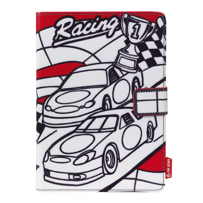"techair Kiddie Universal Case for 7"" Tablet in Racing Cars"