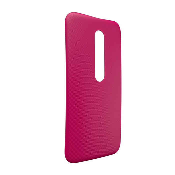 Motorola Shell Case for Moto G (3rd Generation) in Raspberry