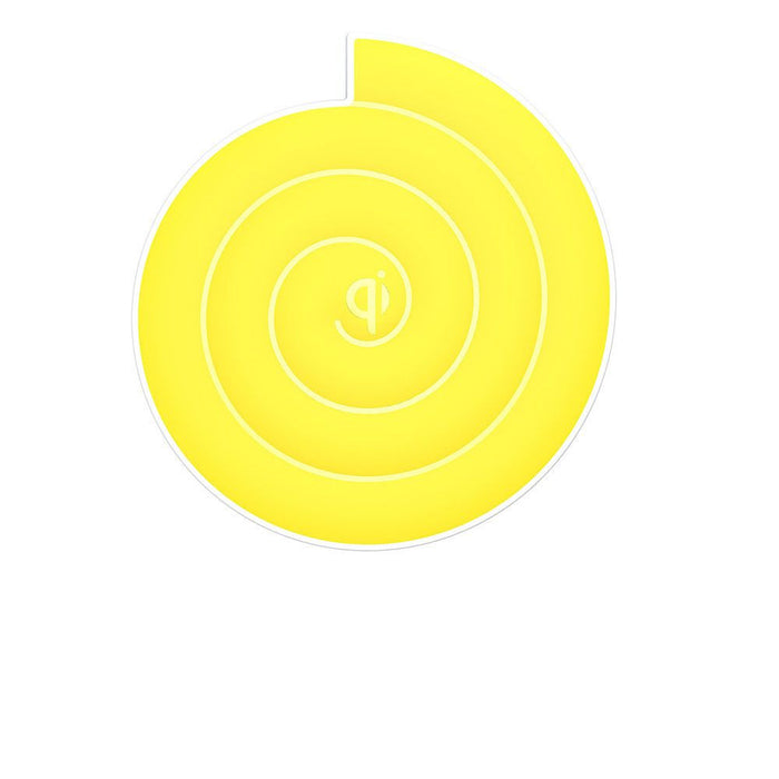 Noosy Qi Universal Wireless Charger in Yellow