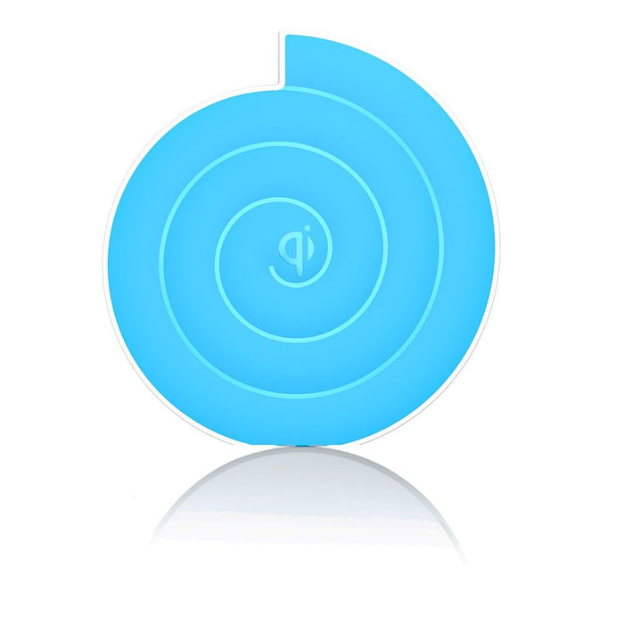 Noosy Qi Universal Wireless Charger in Blue
