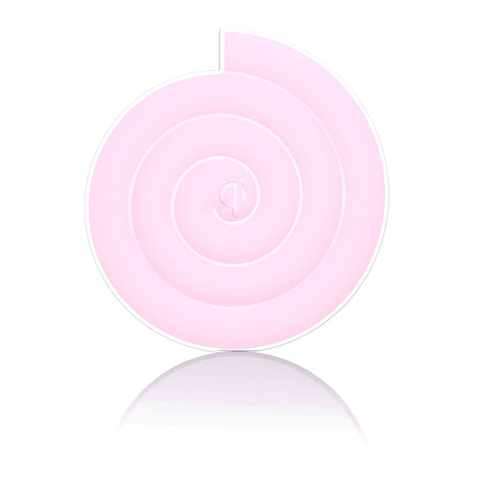 Noosy Qi Universal Wireless Charger in Pink