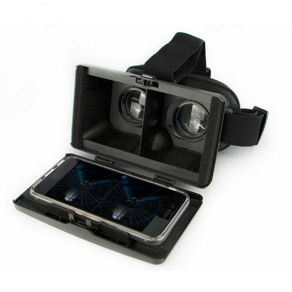 iCandy Universal 3D Virtual Reality (VR) Goggles in Black