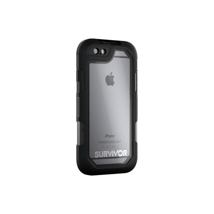 Griffin Survivor Summit Case for Apple iPhone 6/6s in Black/ Clear