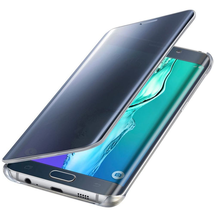 Samsung Clear View Case for Samsung Galaxy S6 Edge+ in Black/Blue