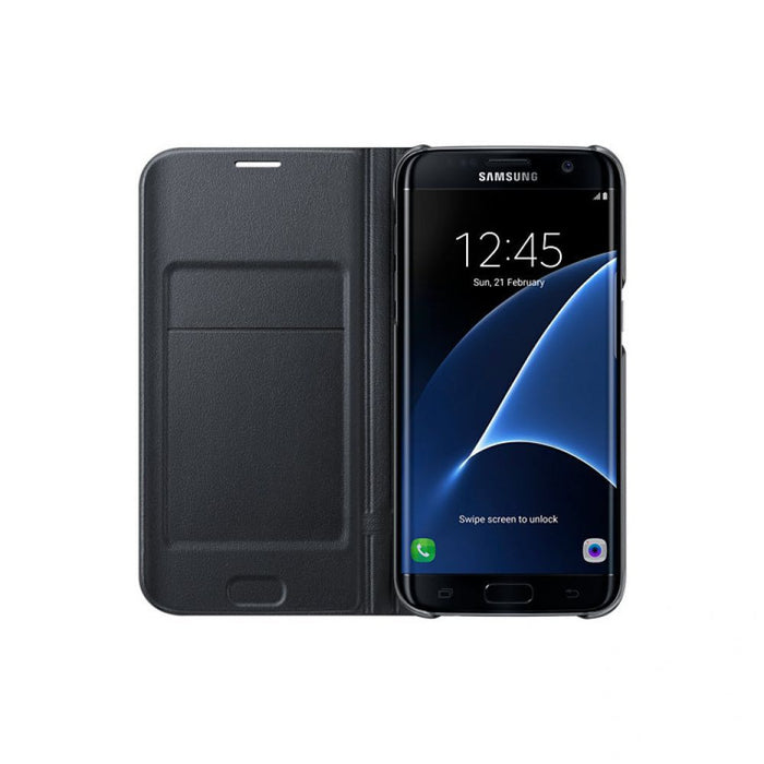 Samsung LED View Case for Samsung Galaxy S7 Edge in Black