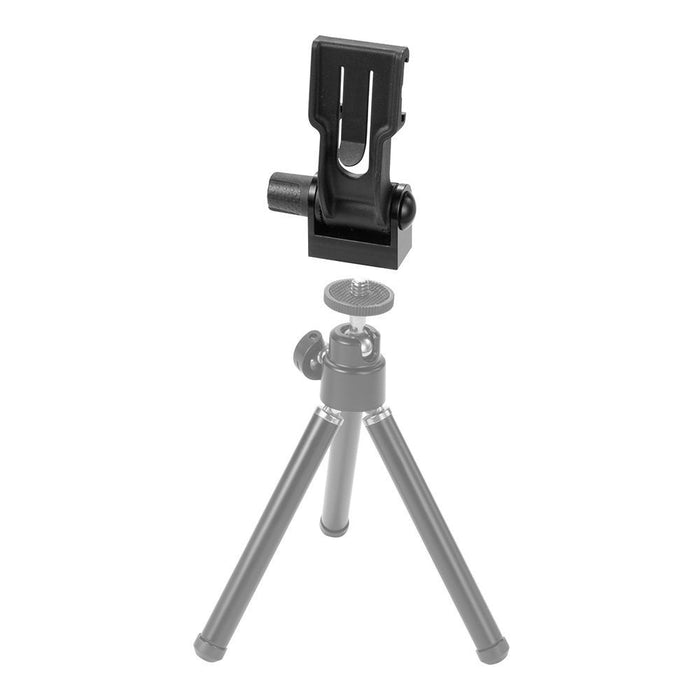 Optrix Tripod Connector Mount Accessory Kit for Optrix Waterproof Action Camera Case in Black
