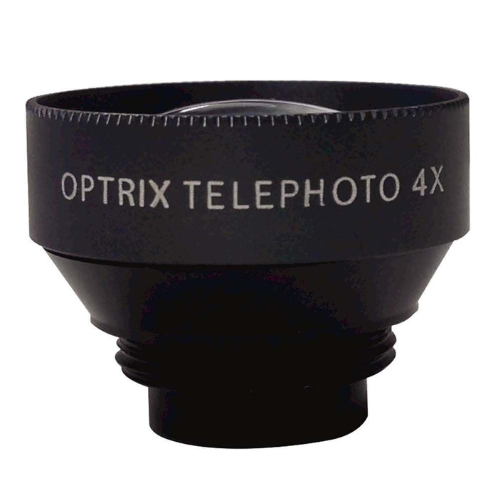 Optrix Telephoto 4x Zoom Lens ONLY for Optrix Waterproof Action Camera Case for Apple iPhone 5/5s/SE