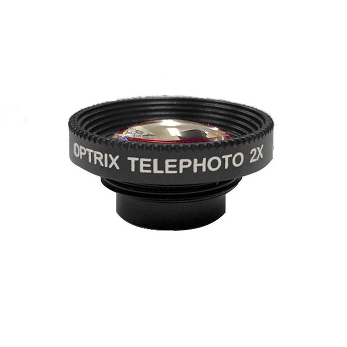 Optrix Telephoto 2x Zoom Lens ONLY for Optrix Waterproof Action Camera Case for Apple iPhone 5/5s/SE