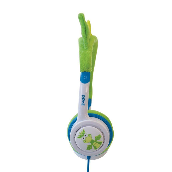 iFrogz Little Rockers Kids Dragon Headphones in Green