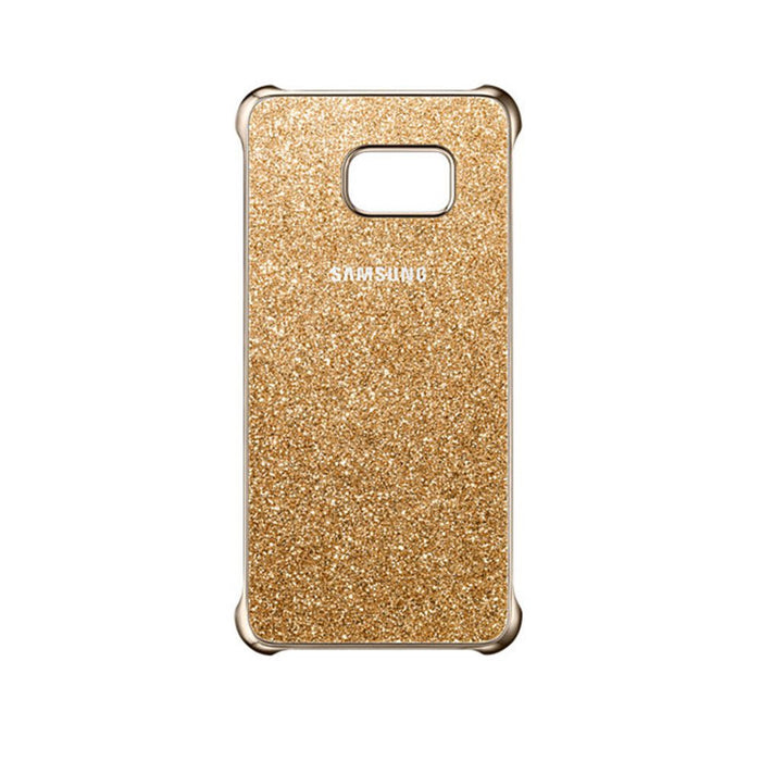 Samsung Glitter Cover Case for Samsung Galaxy S6 Edge+ in Gold
