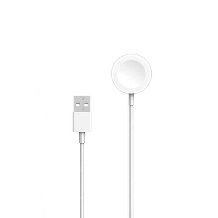Apple Watch Magnetic 2m Charging Cable (A1598) in White - Bulk Packed