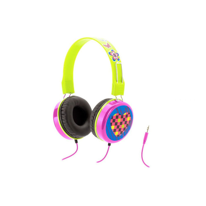 Griffin Crayola Headphones in Pink/Green