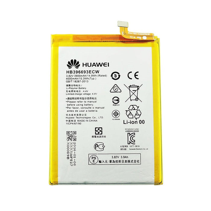 Genuine Huawei 4000 mAh Battery HB396693ECW Huawei Ascend Mate 8