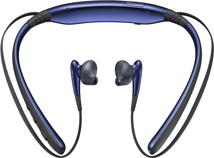 Official Samsung Level U Wireless Bluetooth Stereo Headset Black/Blue