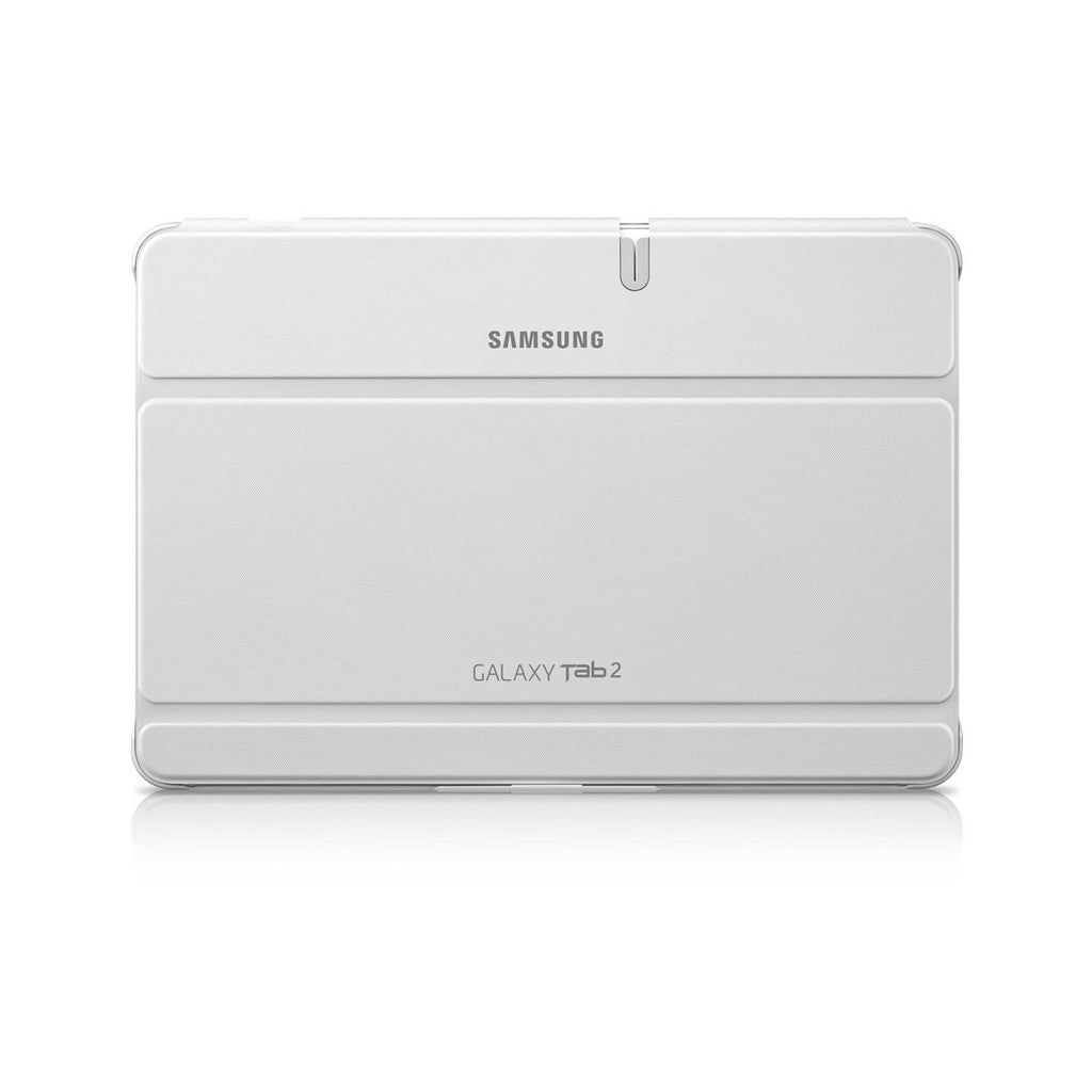 "Official Samsung Flip Book Case Cover For Galaxy Tab 2 10.1"" Tablet White - EFC-1H8SWECSTD"