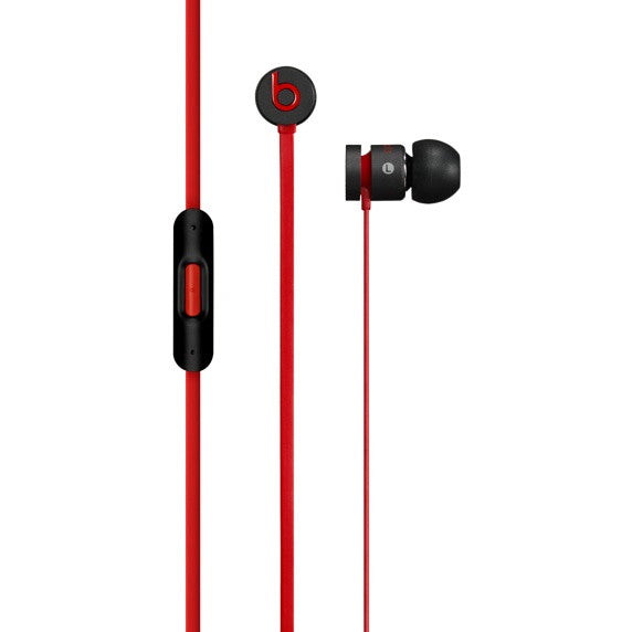 Official Beats by Dr. Dre urBeats Earphones - Black/Red