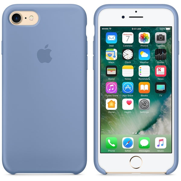 Official Apple iPhone 7 iPhone 8 iPhone SE 2020 Silicone Back Case Cover - Blue