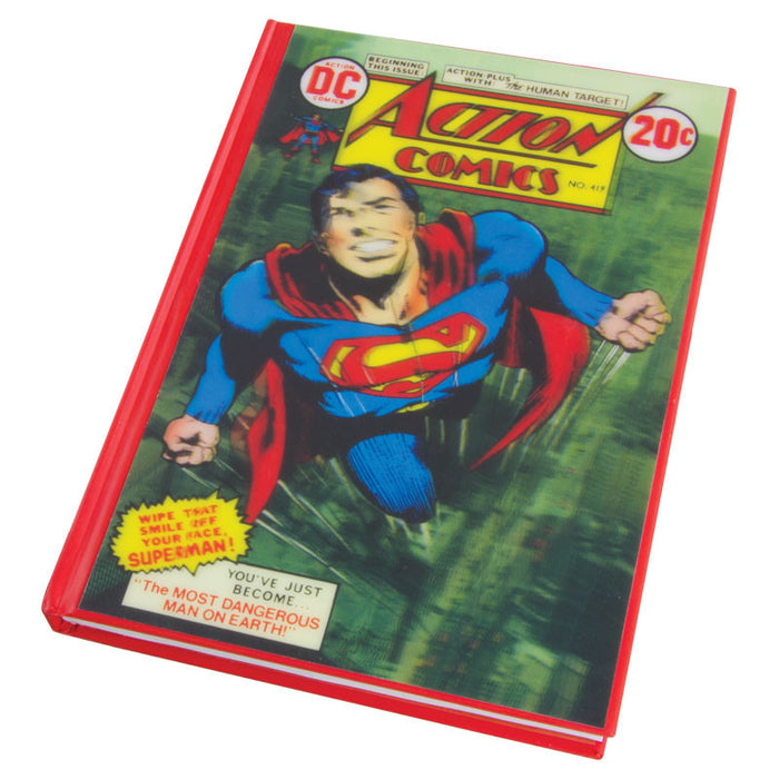 DC Comics Superman 3D Lenticular Notebook - Gift