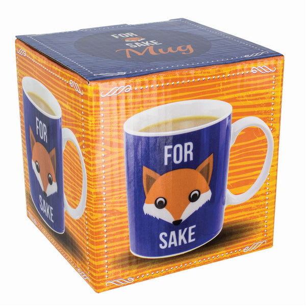 For Fox Sake Mug - Gift