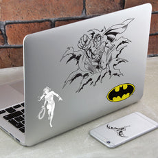 DC Comics Gadget Decals - Gift