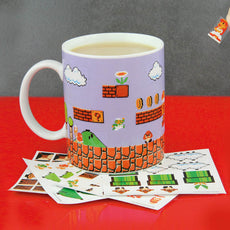 Super Mario Bros. Build A Level mug - Gift