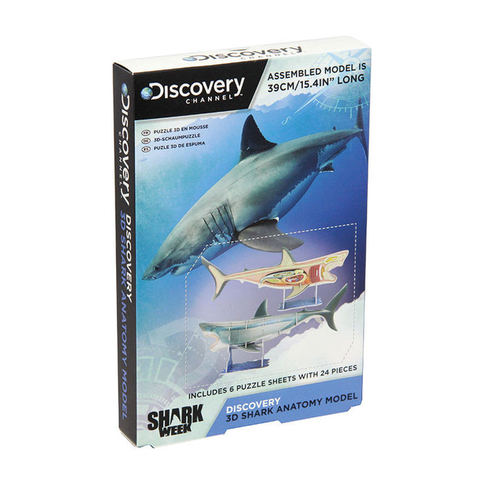 Discovery Channel 3D Shark Anatomy Model - Gift