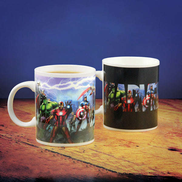 Marvel Heat Change Mug - Gift