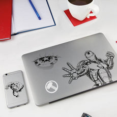 Marvel Gadget Decals - Gift