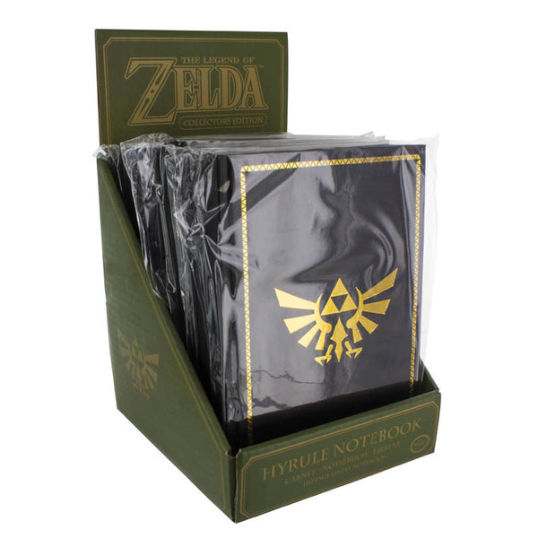 The Legend of Zelda Hyrule Notebook - Gift