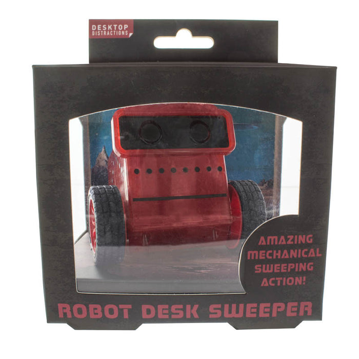 Desktop Distractions Robot Desk Sweeper - Gift
