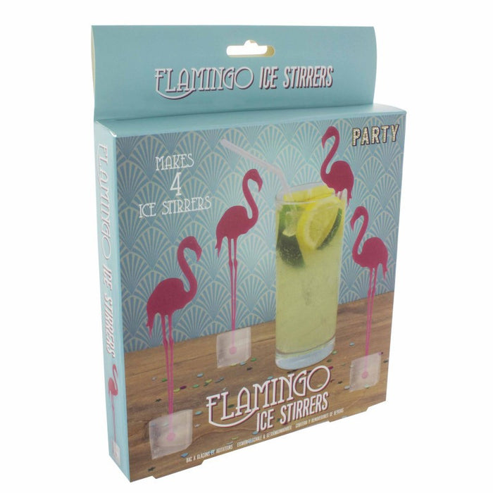 Party Flamingo Ice Stirrers - Gift