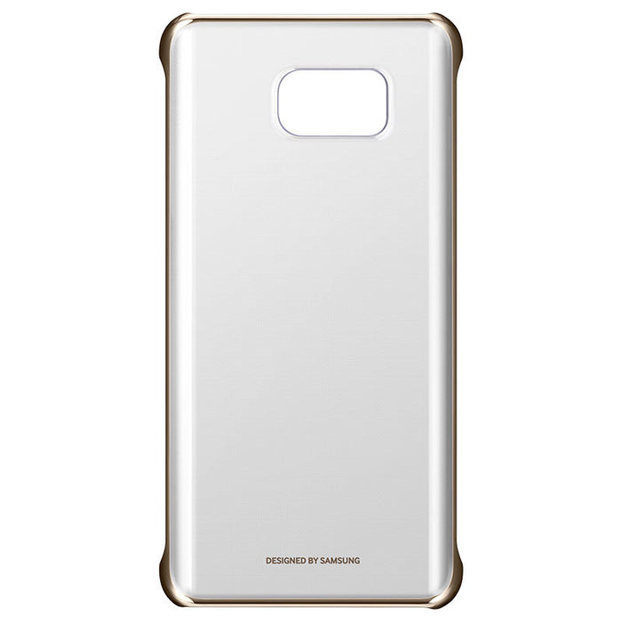 reputable site 85123 f9f9f Official Samsung Galaxy Note 5 Clear Gold Case Cover