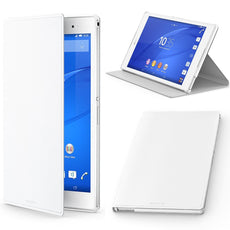 Official Sony Xperia Z3 Tablet Compact Flip Stand Cover White - SCR28