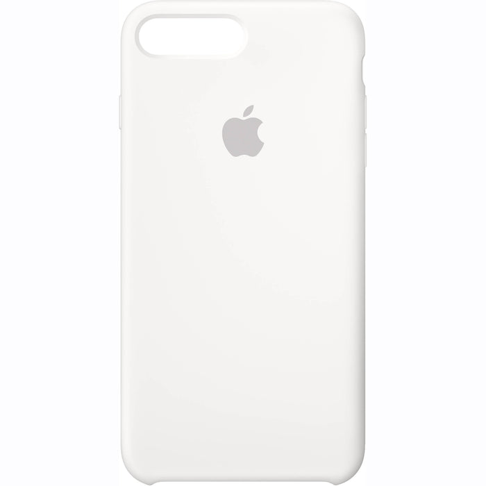 Apple iPhone 7 Plus iPhone 8 Plus Silicone Back Case Cover - White