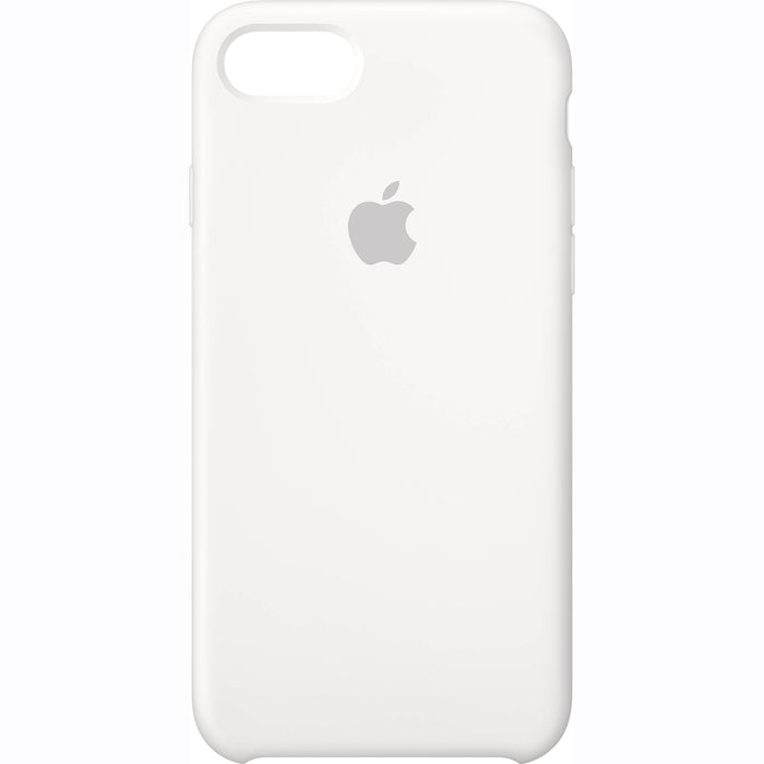 Official Apple iPhone 7 iPhone 8 iPhone SE 2020 Silicone Back Case Cover - White