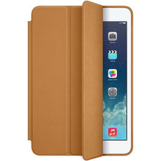 Apple iPad Mini 1/2/3 Smart Screen and Back Case Cover - Brown