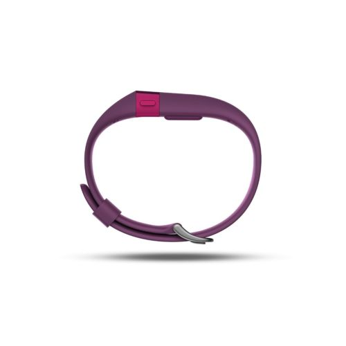 Fitbit Charge HR - Activity Tracker with Heart Rate Monitor - Large - Plum