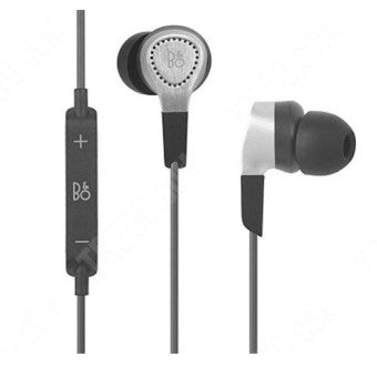 B&O Play BeoPlay H3 In Ear Headphones with Mic - Silver