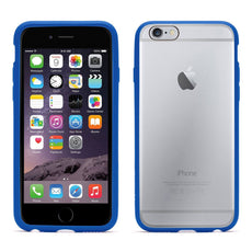 Griffin Reveal iPhone 6 6S Ultra Thin Hard Shell Slim Cover - Clear Blue