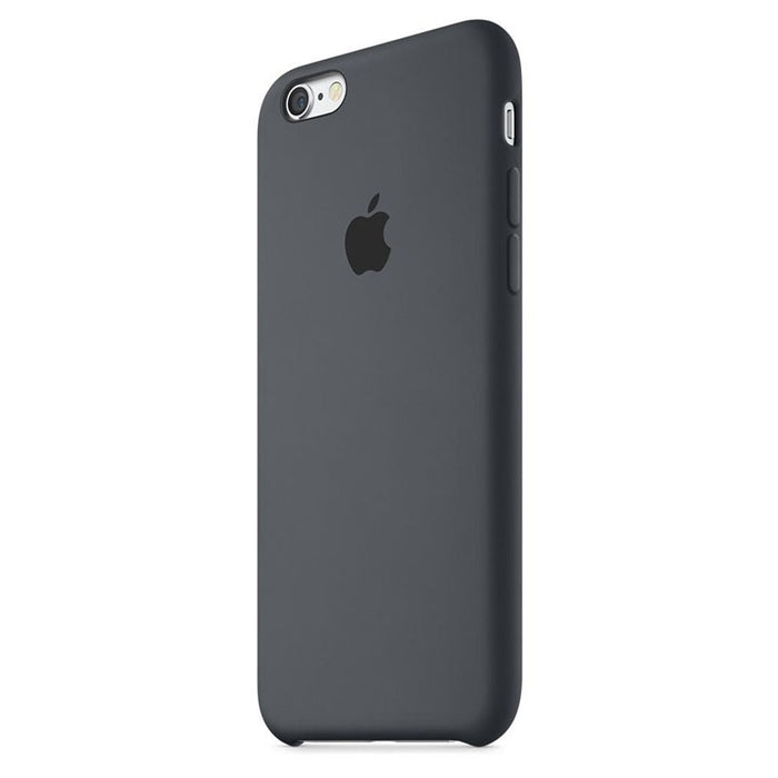 Genuine Apple iPhone 6 Plus iPhone 6S Plus Silicone Back Case Cover - Black