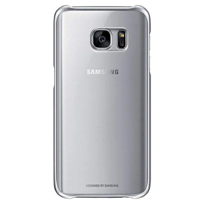 Official Samsung Galaxy S7 Clear Hard Case Cover - Silver