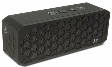 Kitsound Hive 2 Bluetooth Wireless Stereo Speaker - Black