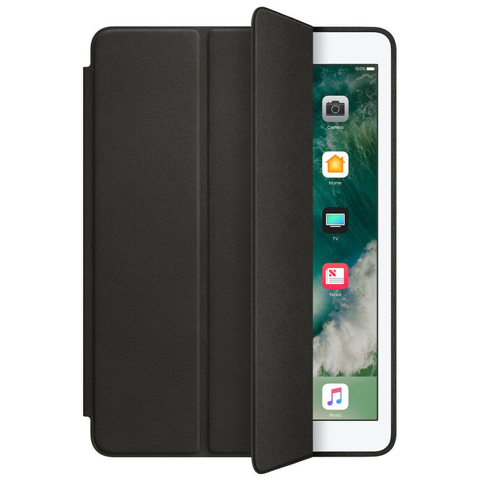 Official Apple Magnetic Leather Folio Smart Case Cover Stand For iPad Air 1st Gen