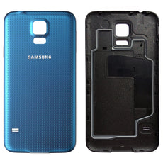 Official Samsung Galaxy S5 Battery Cover Case - Electric Blue EF-OG9008L