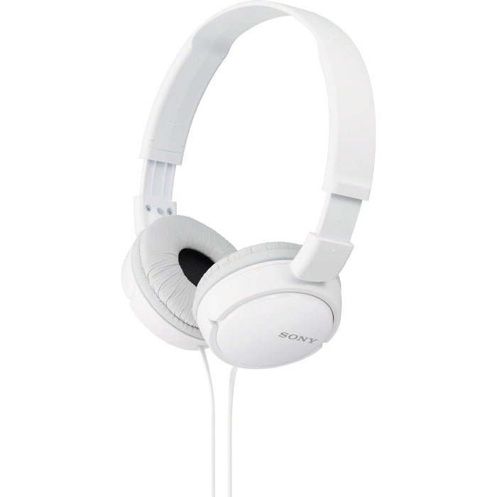 Sony MDR-ZX110W Stereo Over Head Headphones White