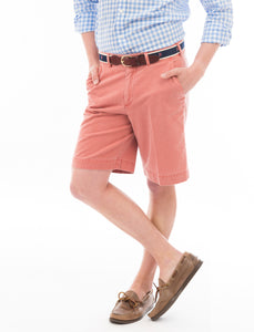Chatham Chino Signature Short: Red