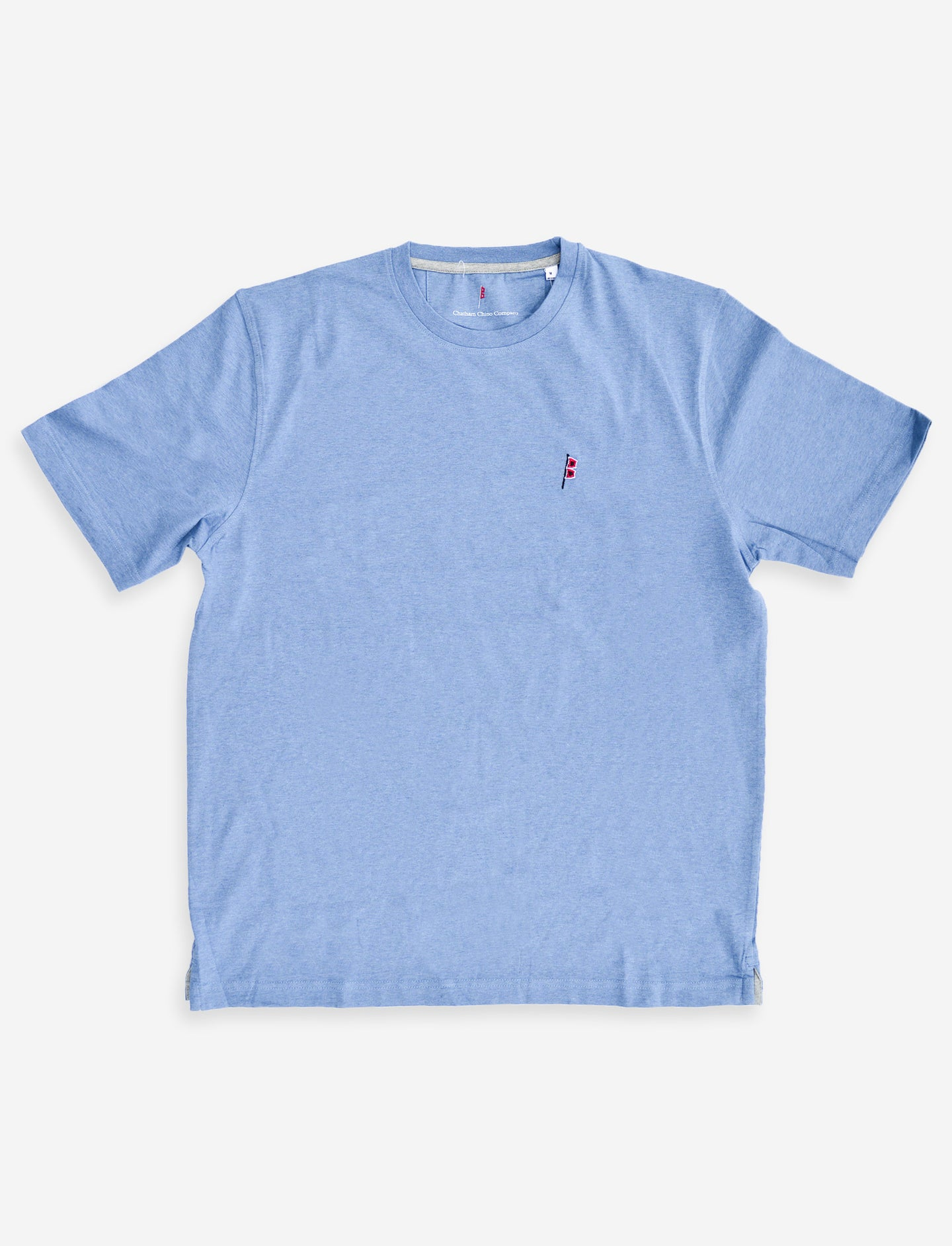 Hurricane Tee: Blue
