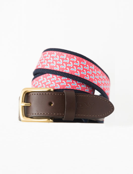 Pink Vineyard Vines Cape Cod Belt
