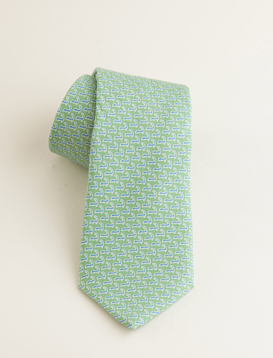 Vineyard Vines Cape Cod Tie: Green