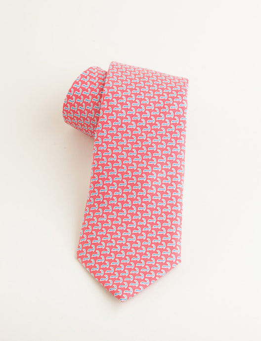 Vineyard Vines Cape Cod Tie: Raspberry